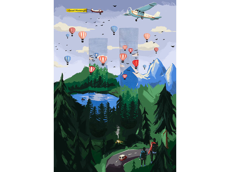 Many Mornings Adventure Balloon by Many Mornings