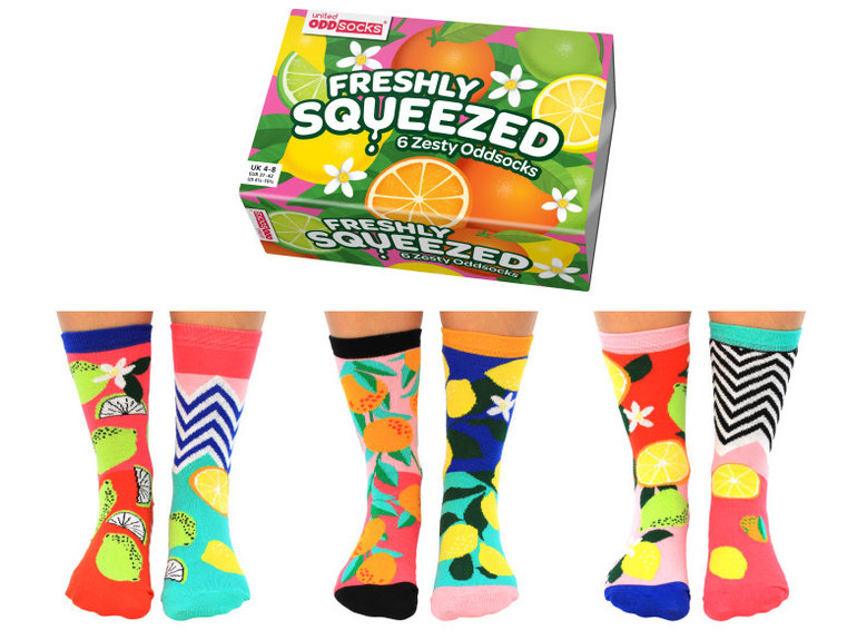 ODDsocks Freshly Squeezed - Box by ODDsocks
