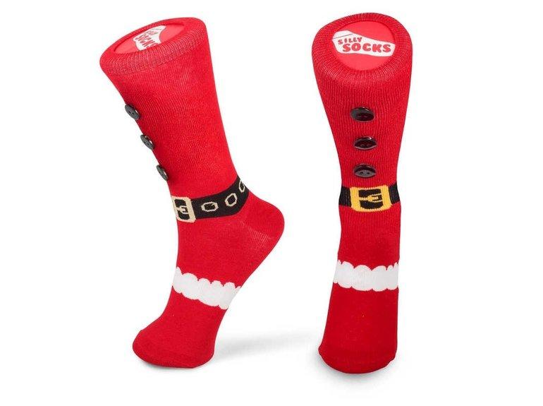 Silly Socks Kerstmanschoen - AntiSlip by Silly Socks