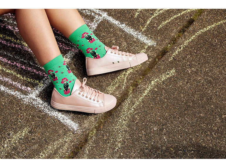 Sock It To Me Pink Poodle by Sock It To Me