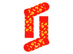 Happy Socks Pizza Sock by Happy Socks