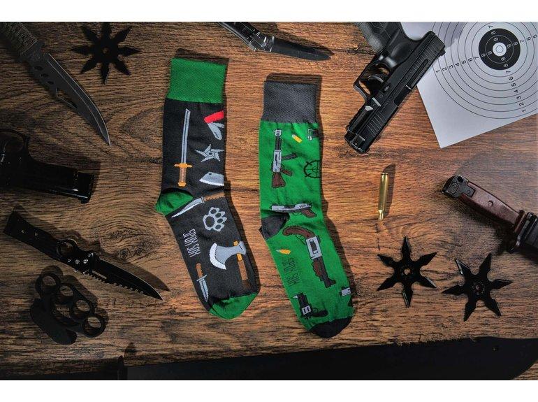 Spox Sox Guns & Knifes by Spox Sox