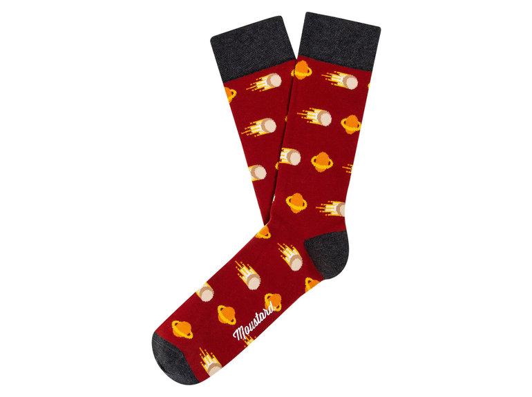 Moustard Comets Socks by Moustard