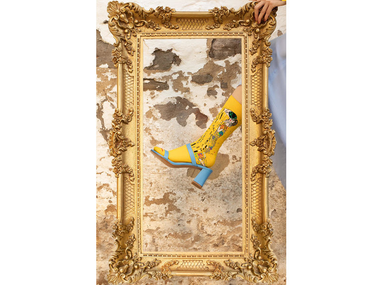 MuseARTa The Kiss - Yellow by MuseArta