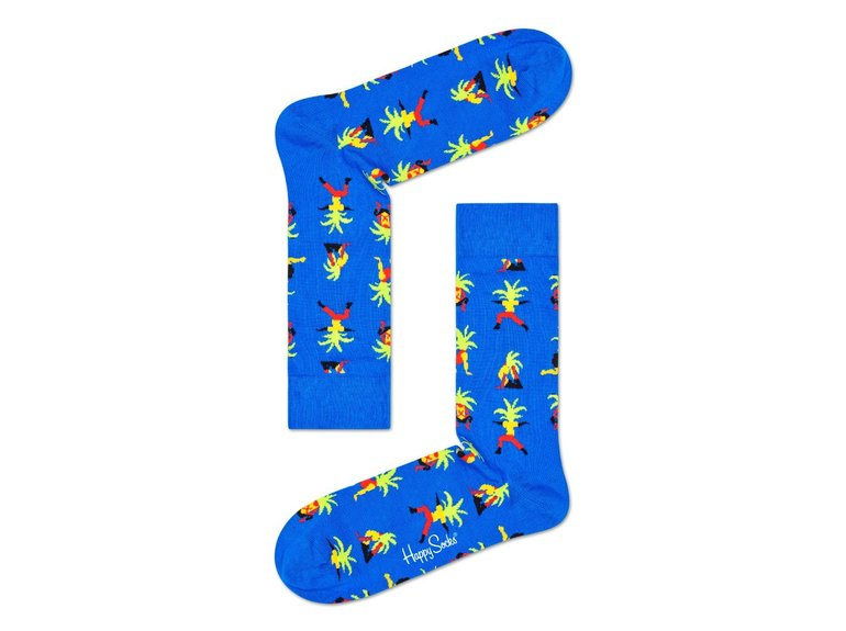 Happy Socks Yoga Palm Sock by Happy Socks
