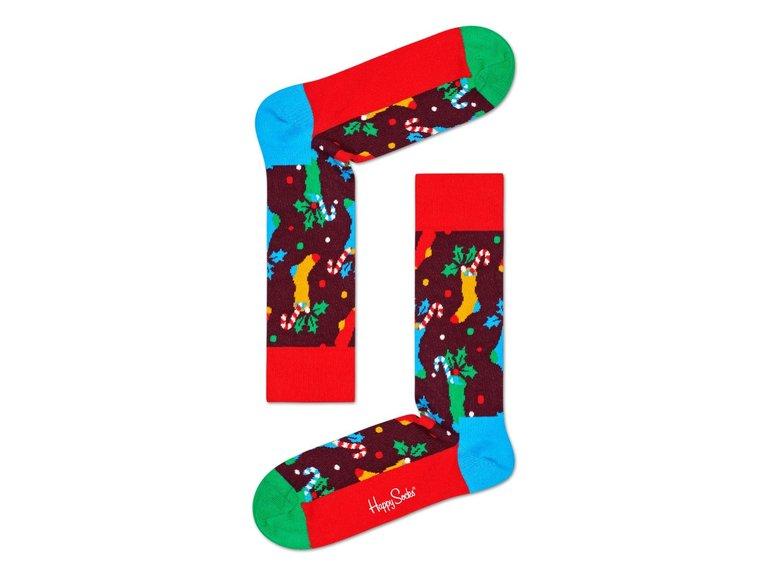 Happy Socks Christmas Stocking Sock by Happy Socks