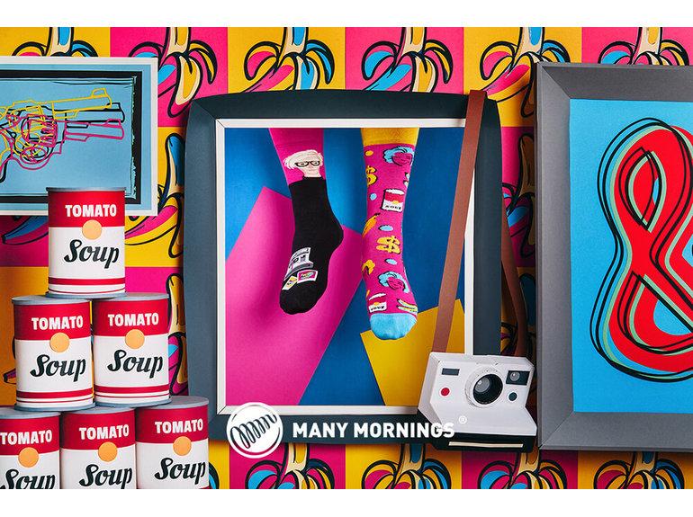 Many Mornings Pop Art by Many Mornings
