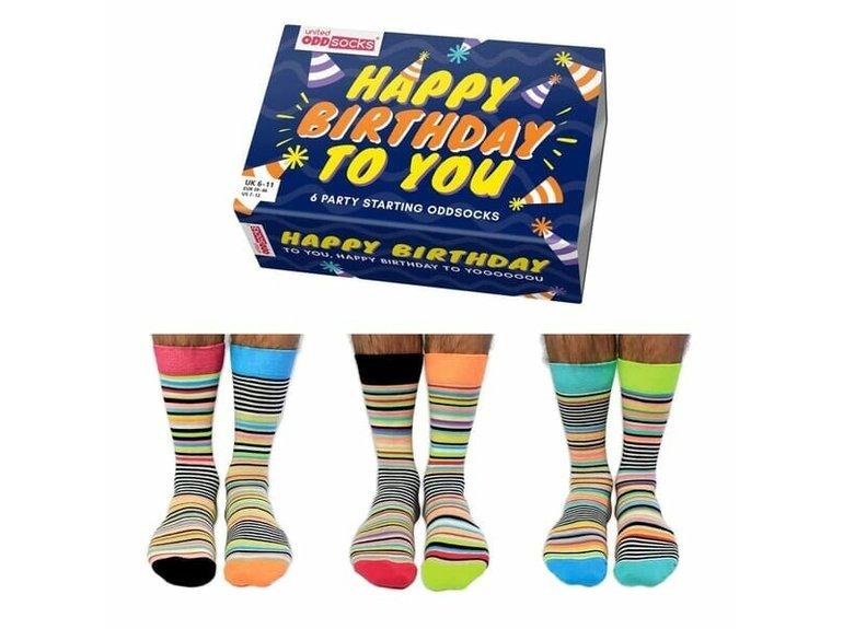 ODDsocks Happy Birthday Men - Box by ODDsocks