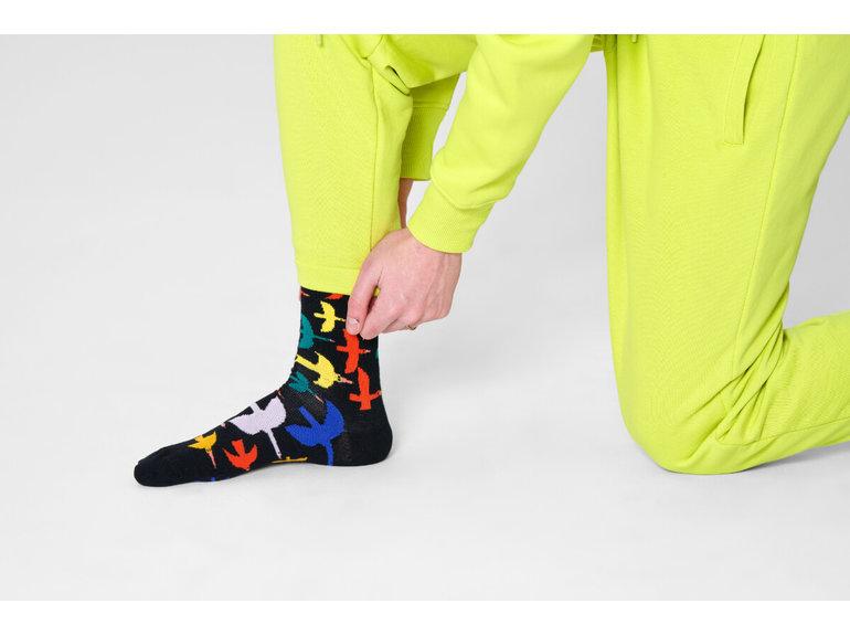Happy Socks Bird Watch Sock by Happy Socks