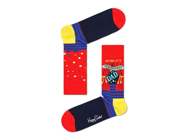 Happy Socks World´s Strongest Dad Sock by Happy Socks