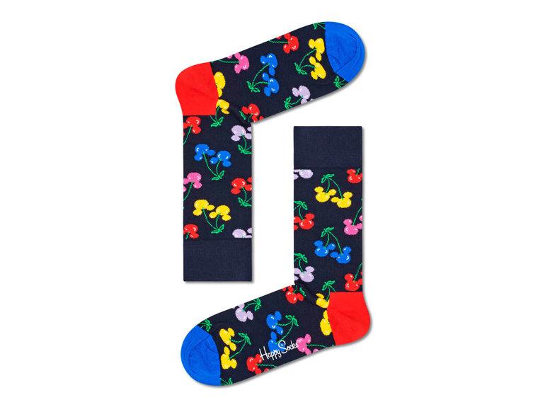 Happy Socks Very Cherry Mickey Sock by Happy Socks