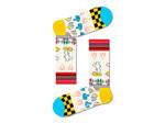 Happy Socks Sunny Sketch Sock by Happy Socks