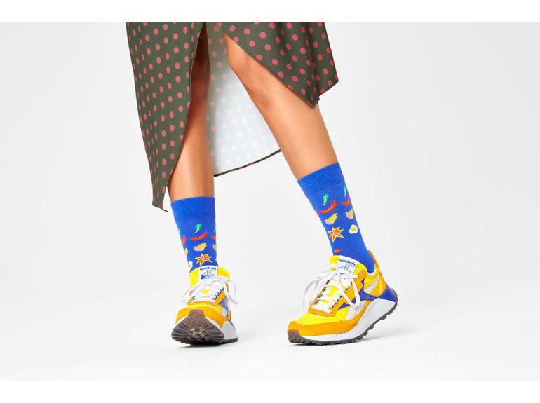 Happy Socks Pizza Invaders Sock by Happy Socks
