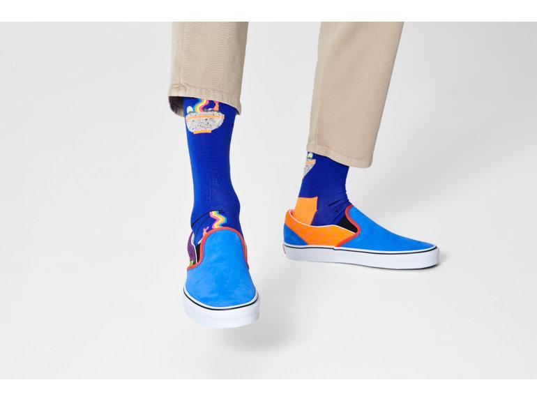 Happy Socks Rainbow Ramen Sock by Happy Socks