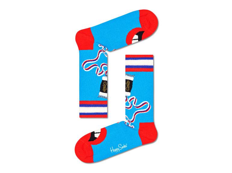 Happy Socks Brush Brush Sock by Happy Socks
