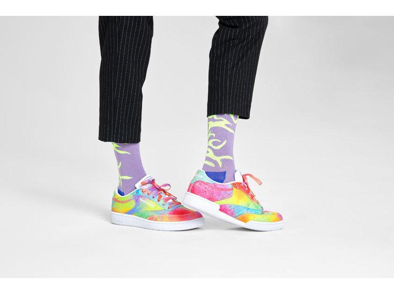 Happy Socks Tiger Rave Sock by Happy Socks