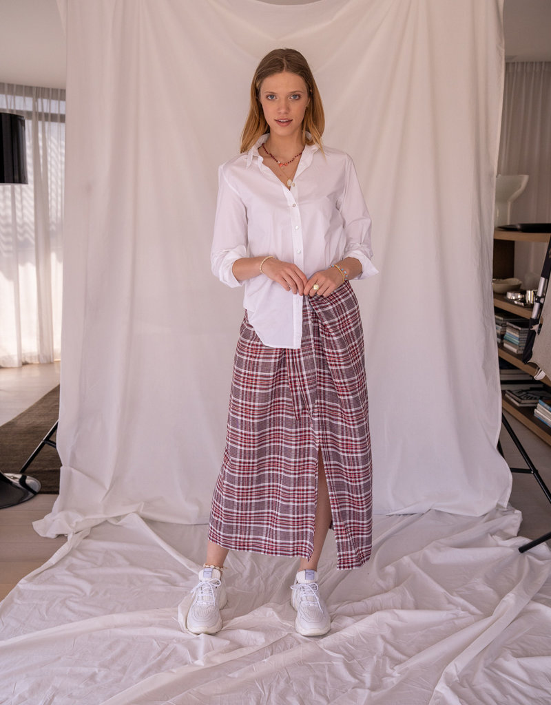Happy 13 Shirt White Cotton
