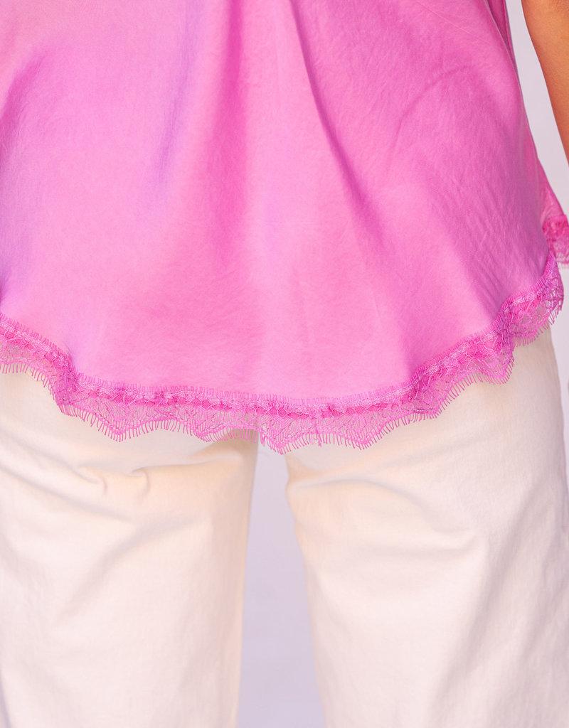 Happy 13 Top Rosy - Hot pink