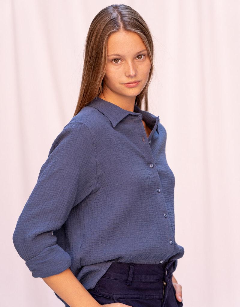 Happy 13 Blouse Danni - Jeans blue