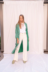 Happy 13 Kimono Violetta - Green print