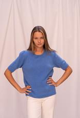 Happy 13 Pull Karla Short Sleeve Jeans Blue