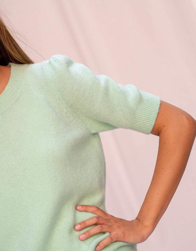 Pull Karla Short Sleeve Mint