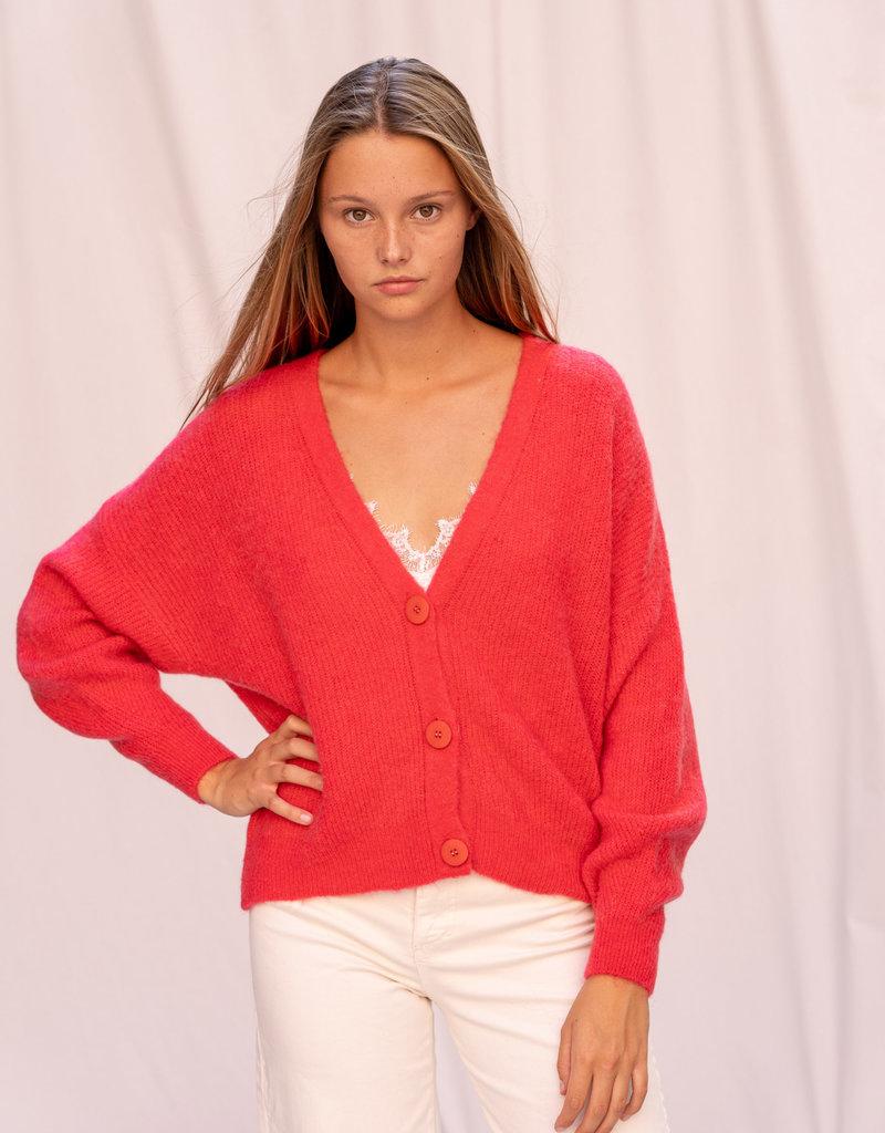 Gilet Nick - Red/Pink