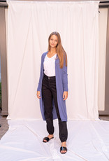 Gilet Long Jeans Blue