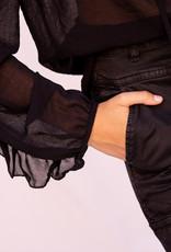 Happy 13 Cargo Pants - Black