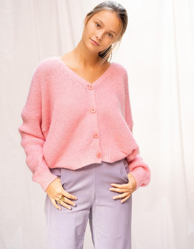 Happy 13 Gilet Meg Oversized - Pink