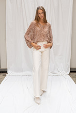 Happy 13 Blouse Poly - Beige/Light Brown