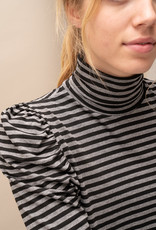 Sous Pull Suzy Striped- Black/Grey