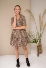Happy 13 Dress Saskia - Camel/Black