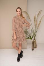 Happy 13 Dress Delphine - Beige/Brown