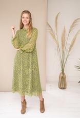 Happy 13 Dress Poppy - Pistachio Green/Black