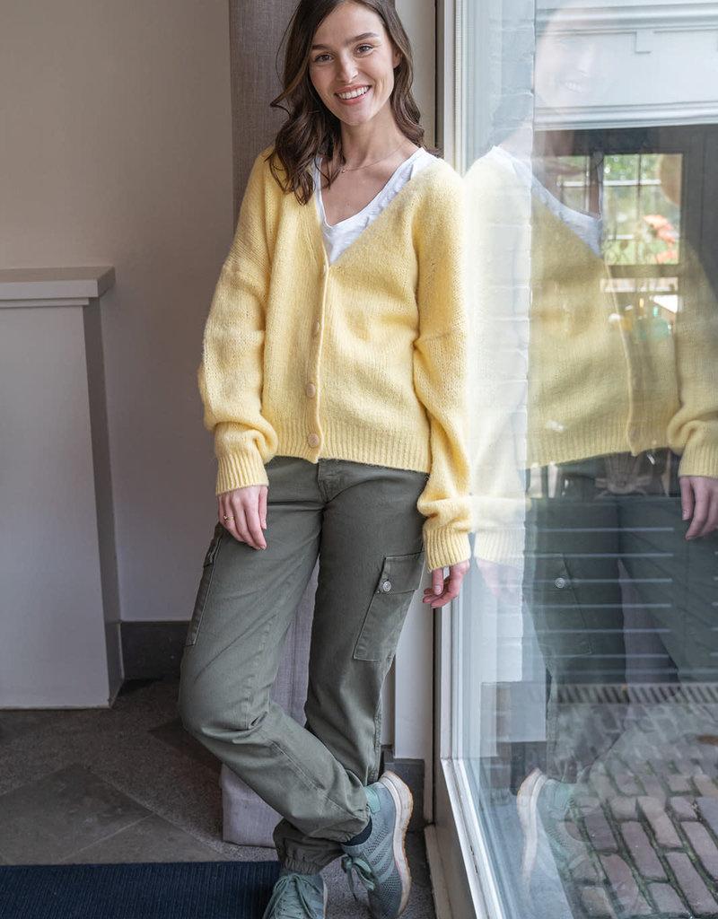 Gilet Meg Oversized - Yellow