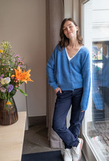 Gilet Meg Oversized - Jeans Blue