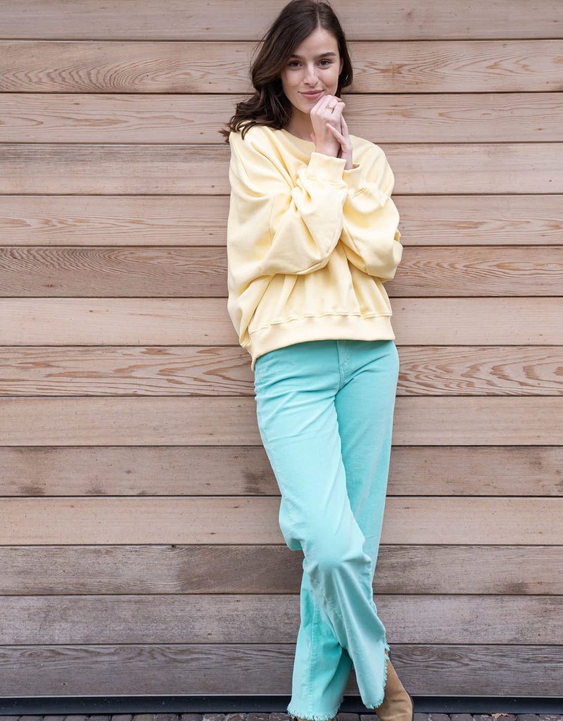 Pants James Corduroy - Ocean Green