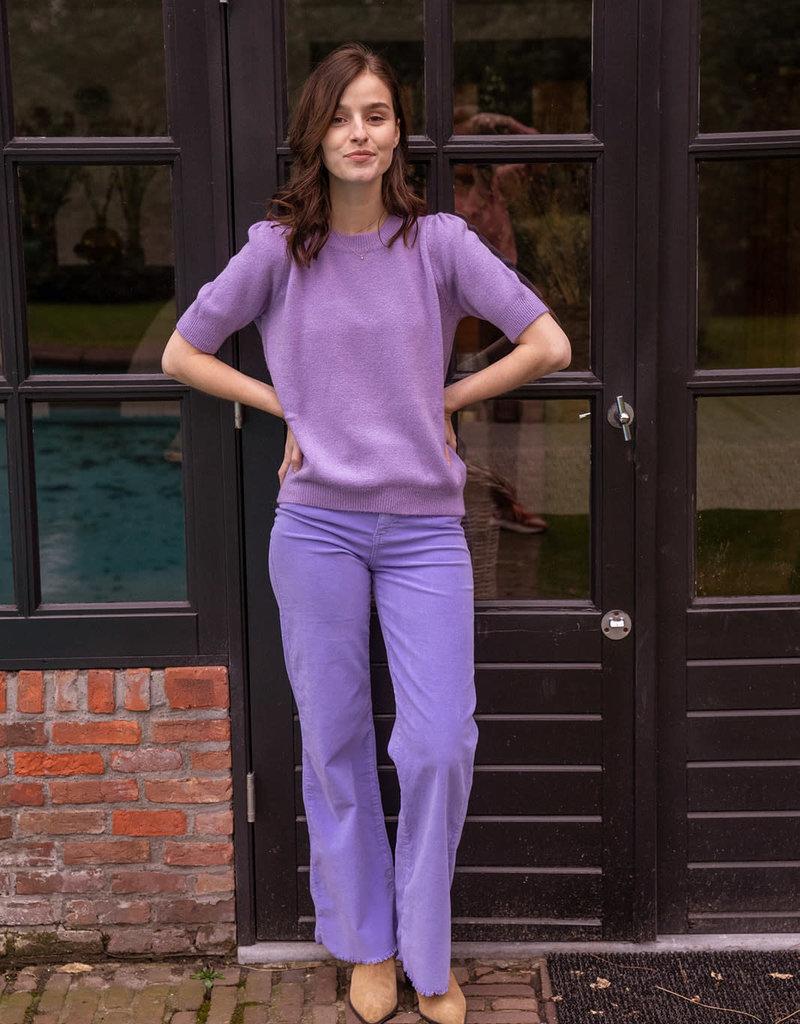 Pull Karla Short Sleeve Lilac