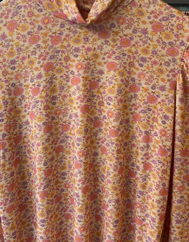 Sous Pull Suzy - Multi big-small flower purple-pink-yellow