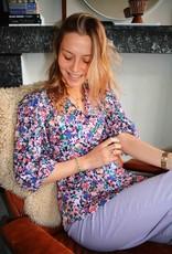Blouse Laetitia - Flowerprint / 4 colors