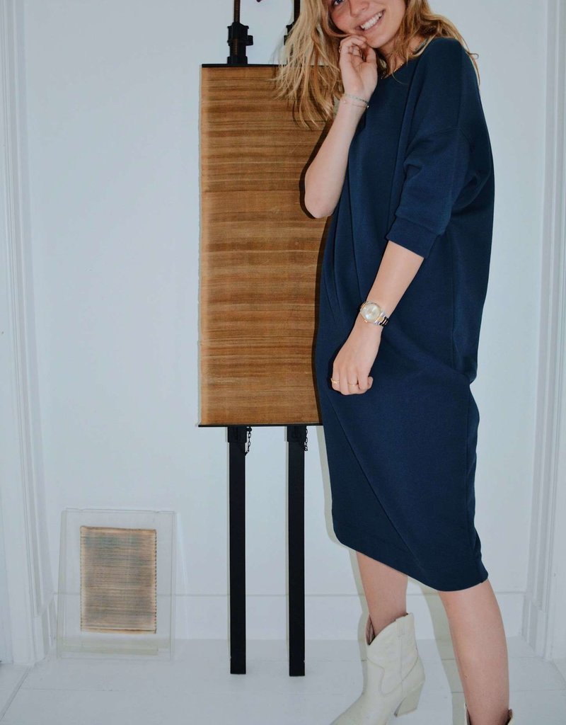 Elisa Dress - Dress Blues