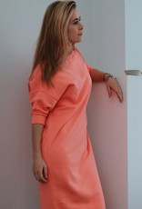 Elisa Dress - Burnt Coral