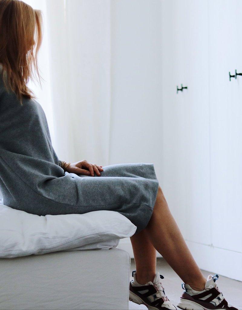 Elisa Dress - Grey Melange