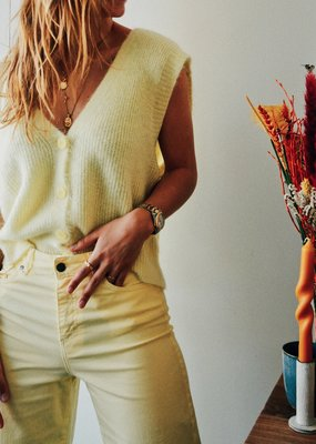 Gilet Nick Sleeveless - Light Yellow