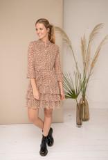 Dress Delphine - Beige/Brown