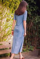 Dress Kim - Faded Denim