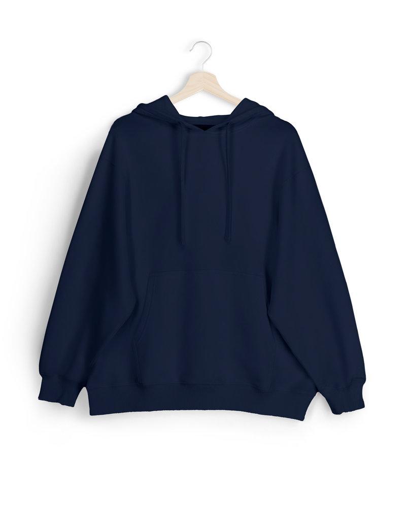Alec Oversized Hoodie - Dress Blue