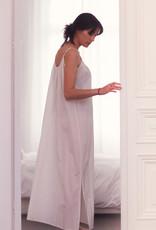 Dress Alida - Off White/Silver print