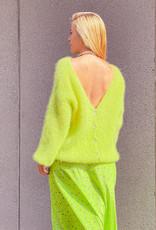 Gilet V Neck Bea - Anis Green